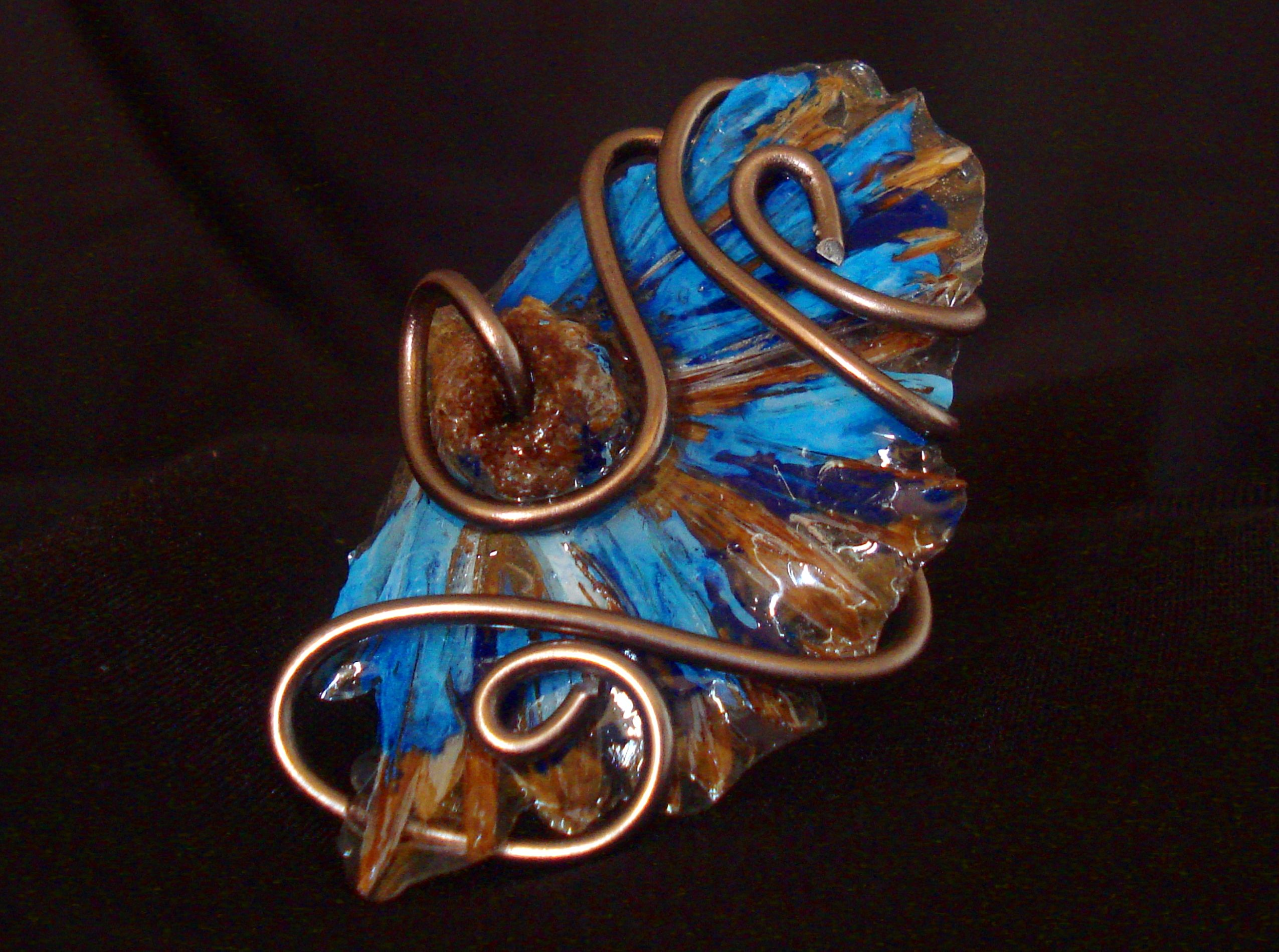 Anel Margarida Azul * Blue Daisy Ring * Fashion * Jewelry
