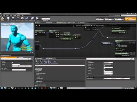 Ue4 character look at tutorial youtube tutorials techniques how to get a character to turn its head to look at something using the animation blueprints and the transformmodifybone node note you could also clamp malvernweather Images