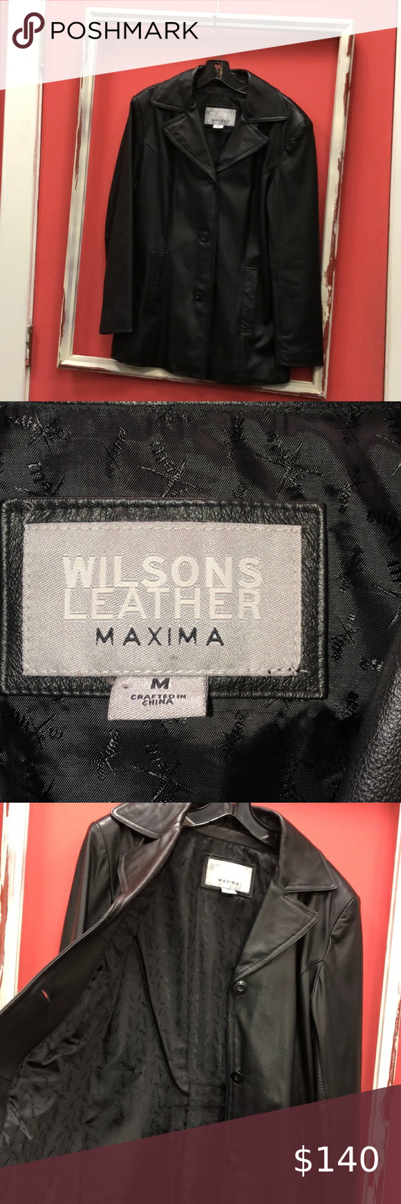 Wilson's Leather Jacket in 2020 Leather jacket, Wilsons