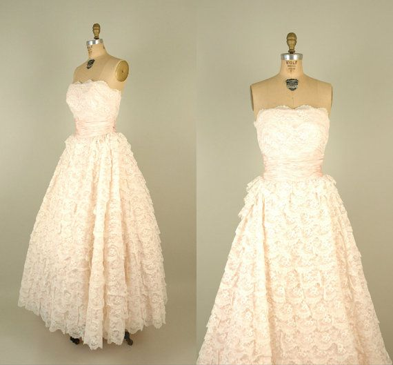 Perfect Vintage Prom Dresses Etsy Adornment - Dress Ideas For Prom ...