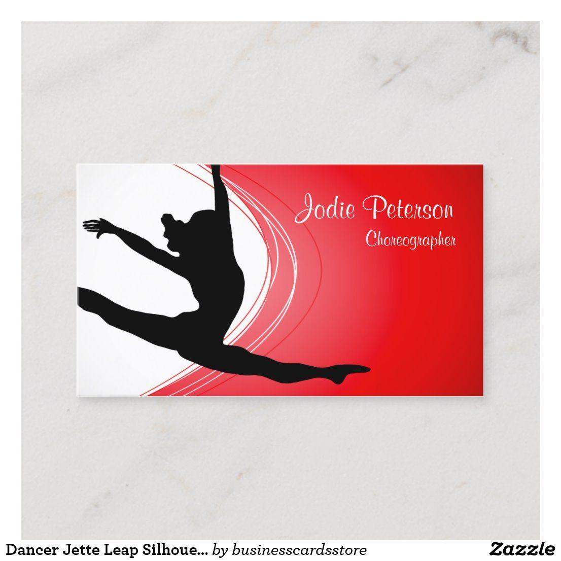 Pin On Choreographer Business Card Templates