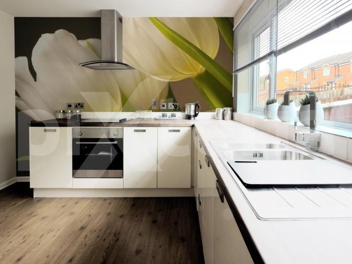 Fototapete Küche in 2019 | Fototapete küche, Neue wohnung ...