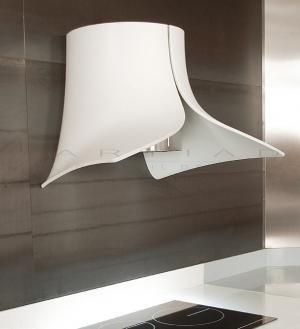 Hotte Pando Design, Blanche En Corian.