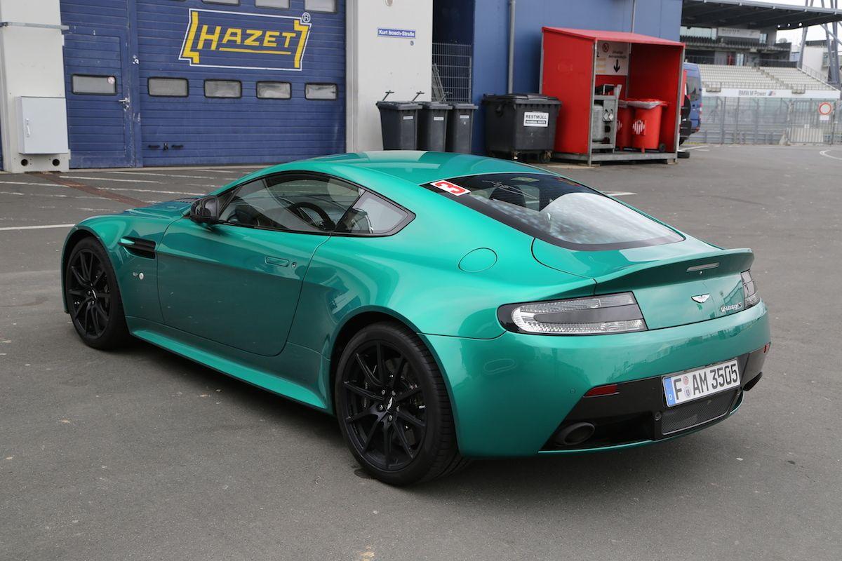 Viridian Green Aston Martin