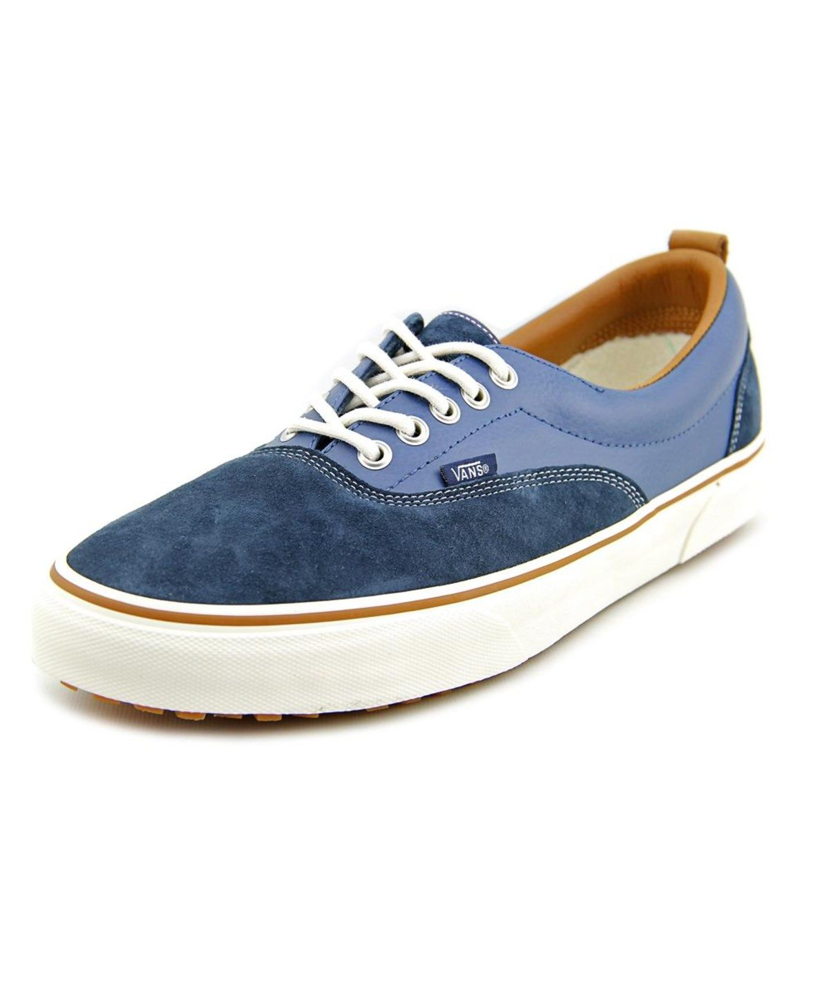 4262e952a4a0be VANS Vans Era Mte Men Round Toe Leather Blue Skate Shoe .  vans  shoes   sneakers