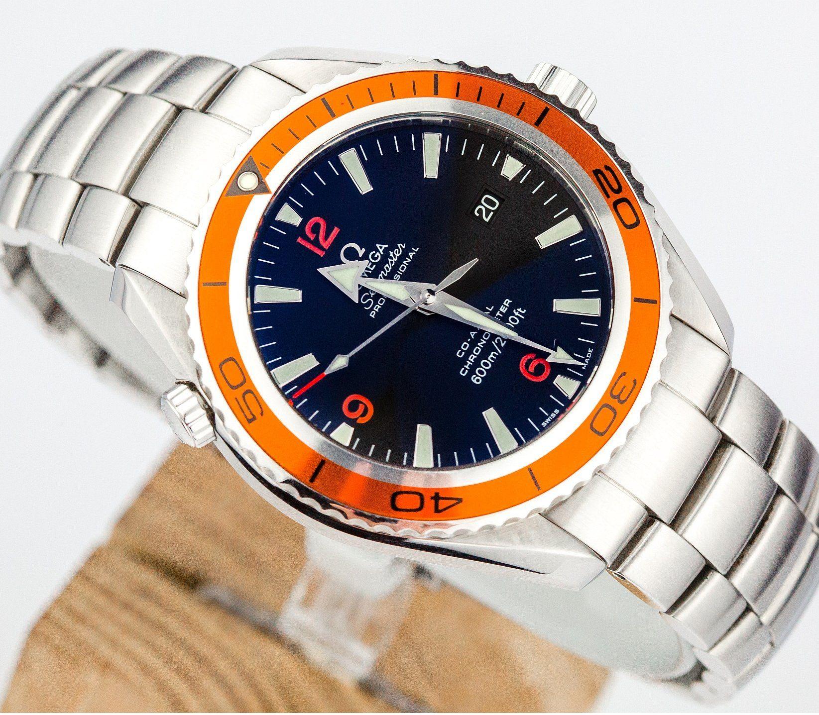 Omega Seamaster Planet Ocean 45 5mm Jak Nowa 7161209061 Oficjalne Archiwum Allegro