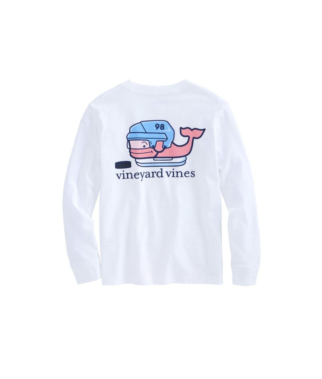 0decd9a5d770 Boys Long-Sleeve Hockey Whale Pocket T-Shirt | style | Hockey shirts ...
