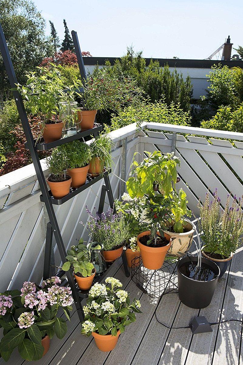 automatische bew sserung f r deinen balkon gardena smart garden deals und gadgets. Black Bedroom Furniture Sets. Home Design Ideas
