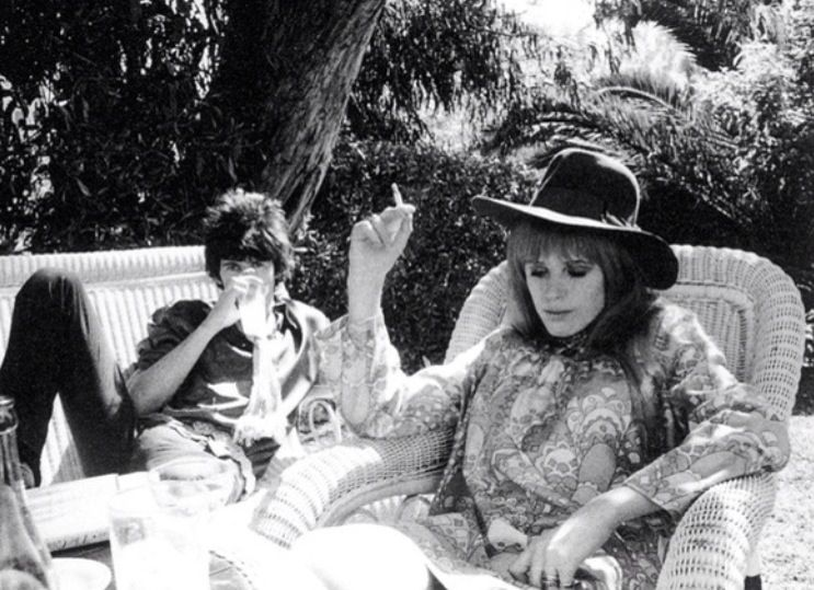 Marianne Faithfull & Keith Richards