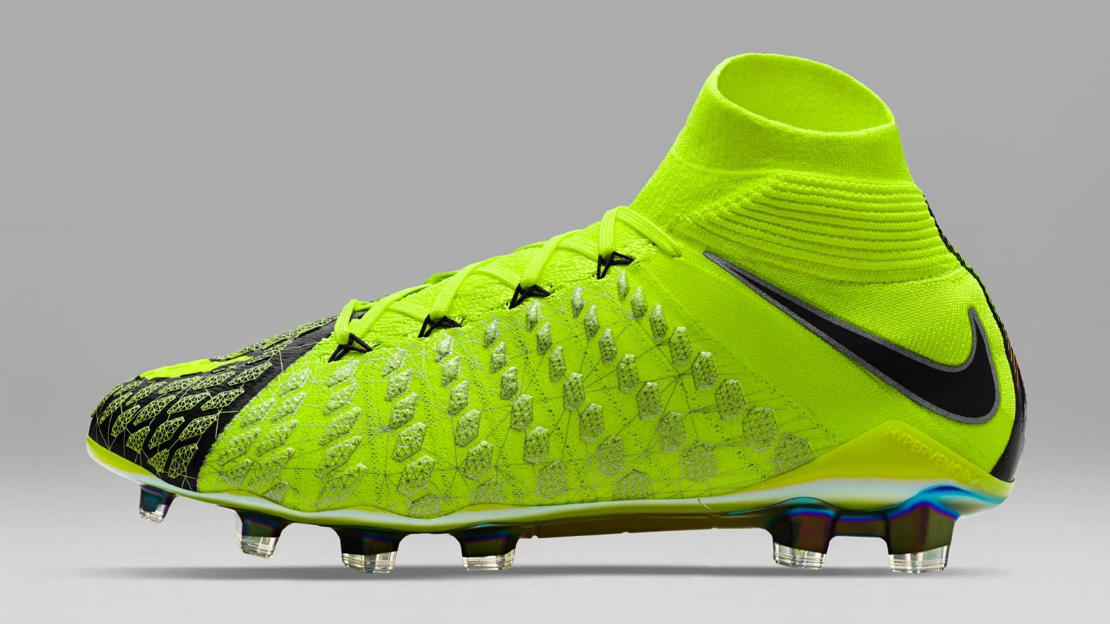 10f1ac1a881 The limited-edition Nike Hypervenom Phantom III EA Sports boots introduce a  striking design