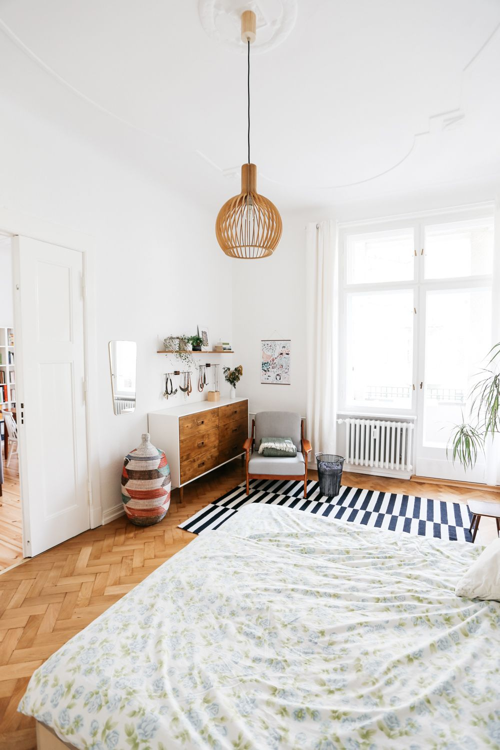 Bedroom Interior From Home Of Nicole Florian In Berlin