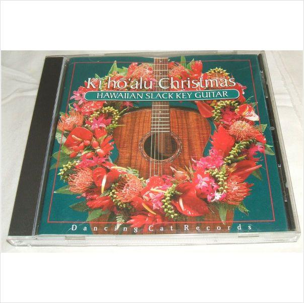 Hawaiian Slack Key Guitar Ki Hoalu Christmas Music CD Dancing Cat ...