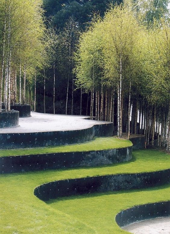 Image result for terraced gardens | Contemporary landscape ...
