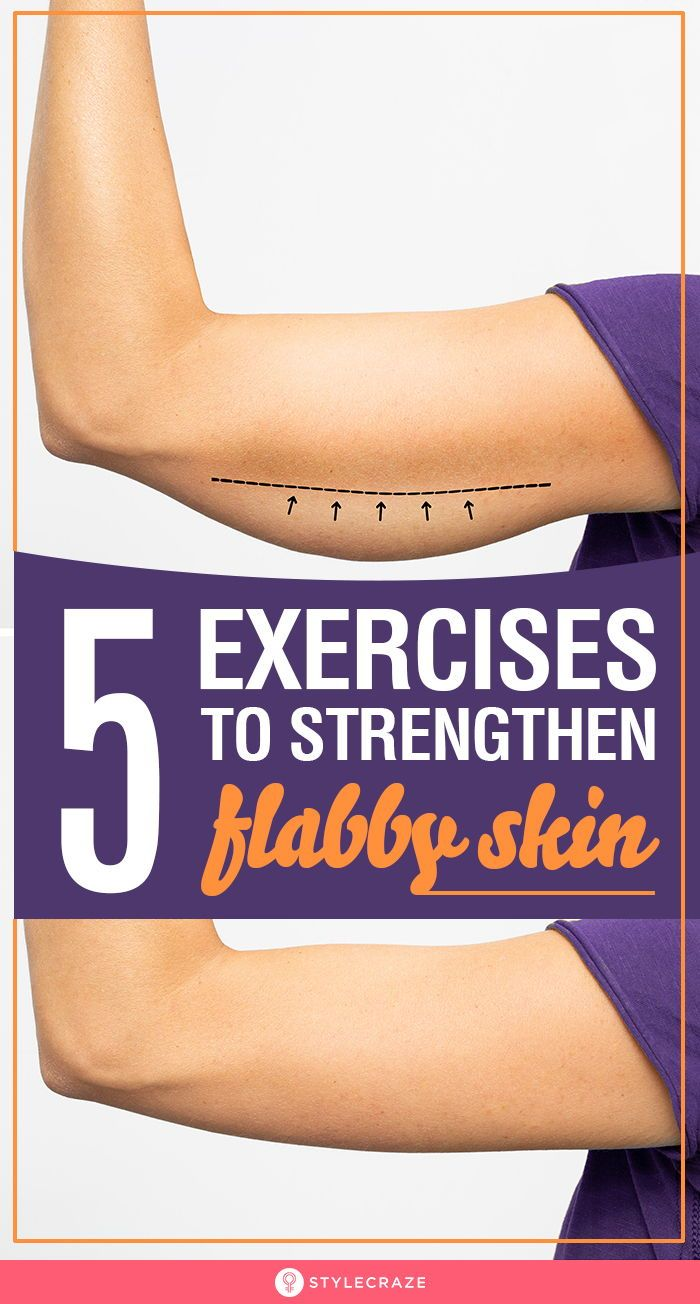 Strengthen Flabby Skin With These Amazing 5 Exerci