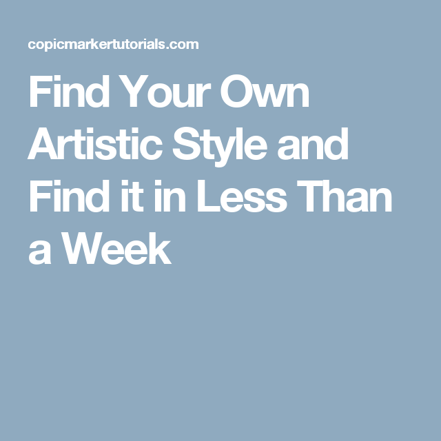 4 Steps To Your Own Signature Art Style Art Business Fashion Drawing Style