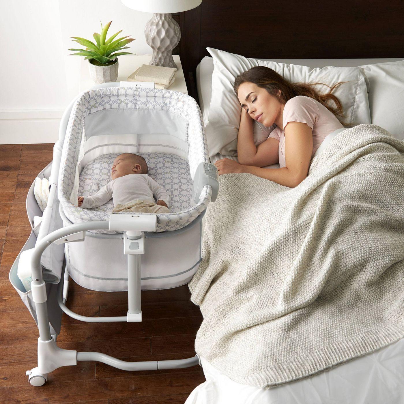 Ingenuity Dream & Grow Dalton, Gray Bedside