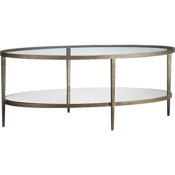 Clairemont Oval Coffee Table Reviews Crate And Barrel