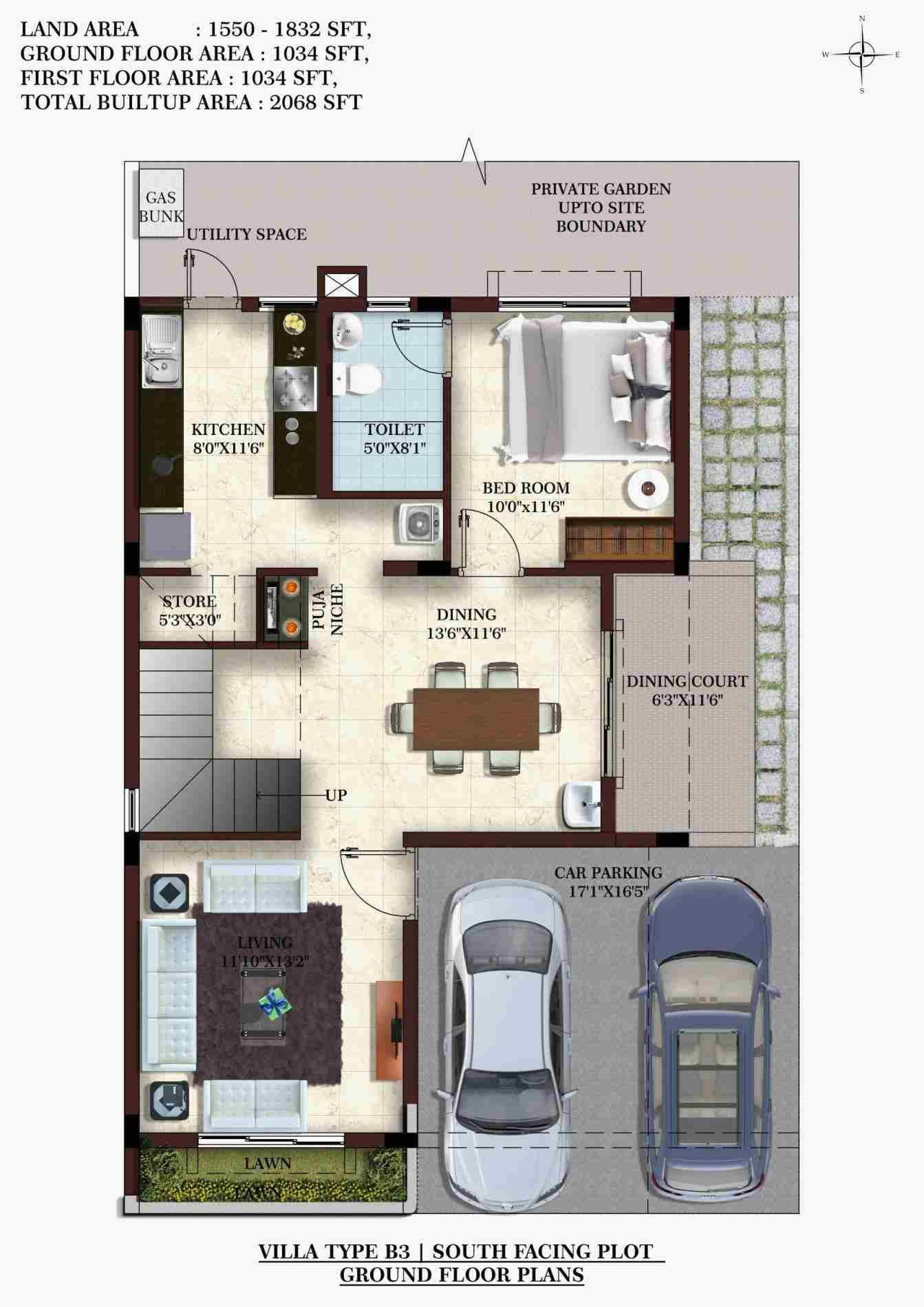 sq ft house plans bedroom indian also south facing home plan elegant image result for rh pinterest