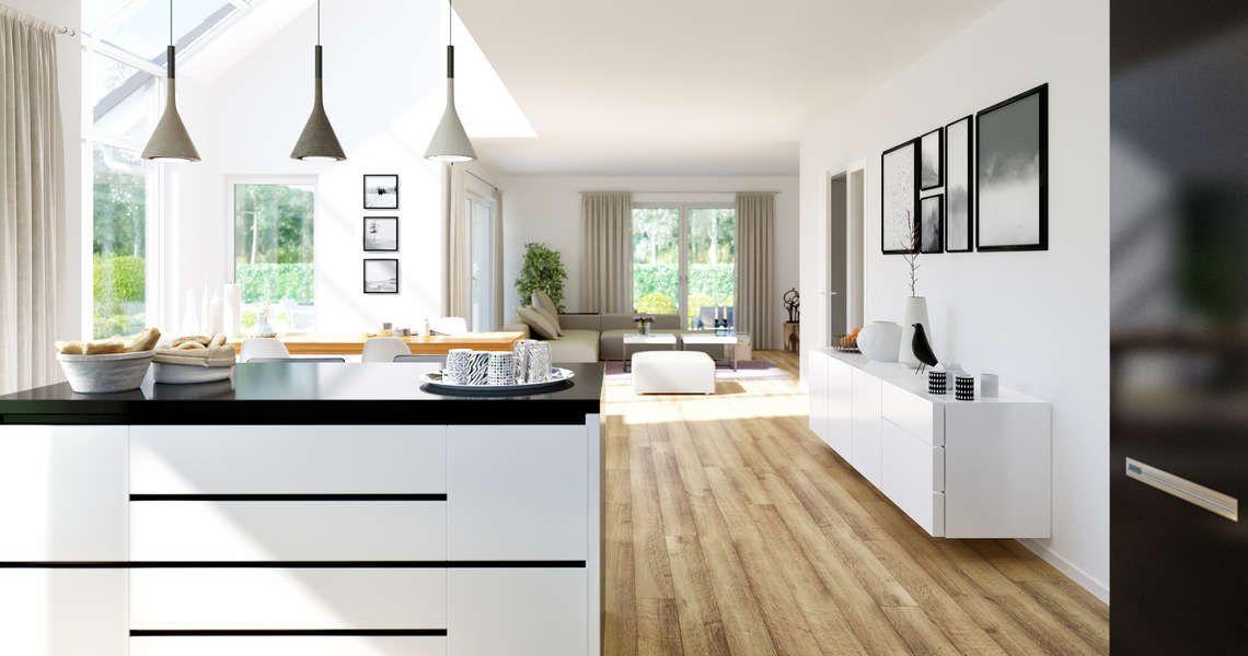 Kern-Haus Massivhaus Maxime Küche House Pinterest Interiors - ideen offene kuche wohnzimmer