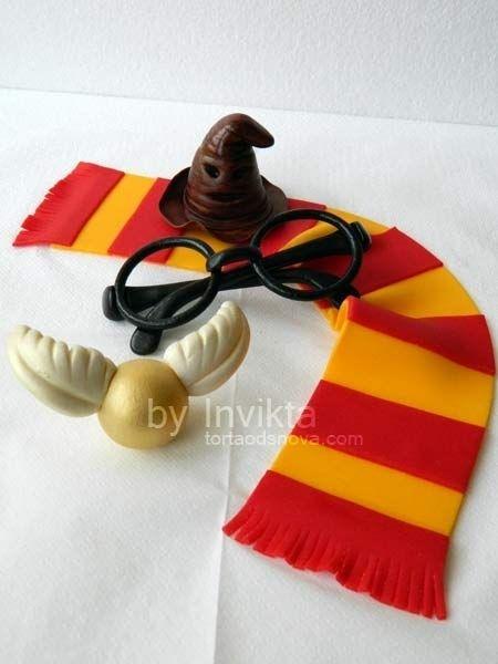 Harry potter cake decorations harry potter cakes for Decoration harry potter