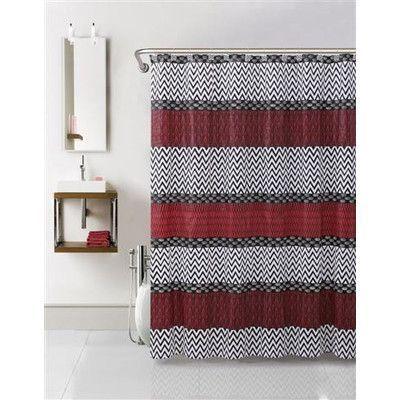 VCNY Tori 3 Piece Shower Curtain Set