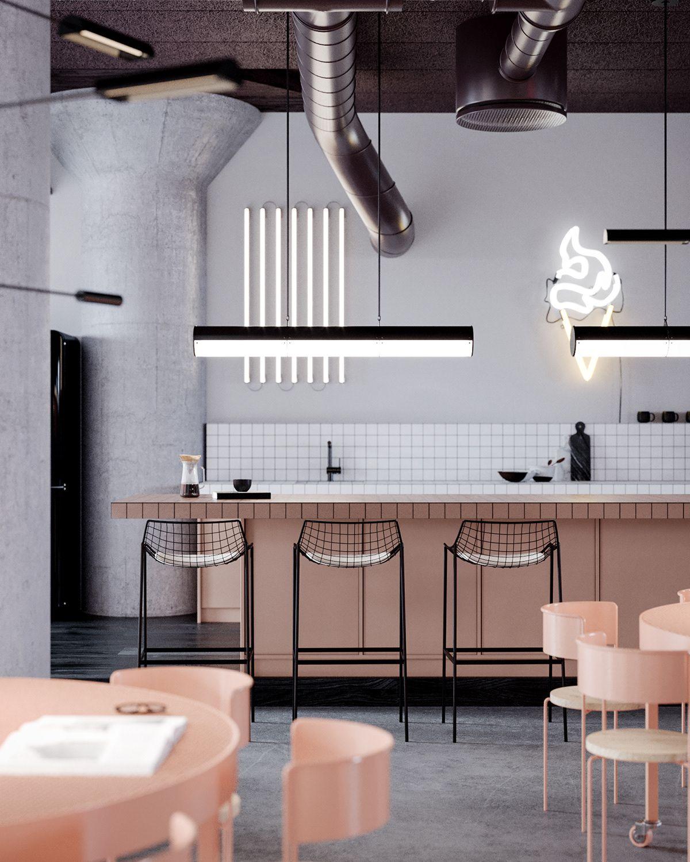 Old Brick Apartment Building: Apartment Kitchen, Interior, Home Decor