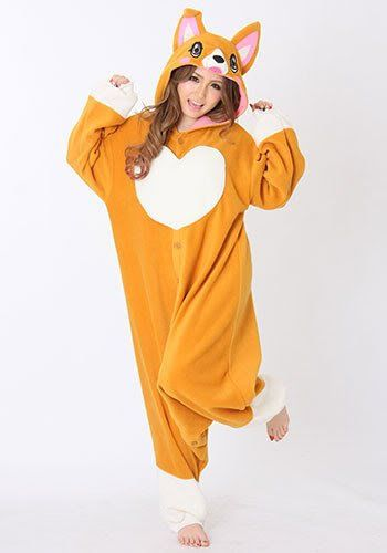 f4be899a9f Cute Shiba Inu puppy dog adult onesie kigurumi made of fleece. If you have  a Shiba Inu