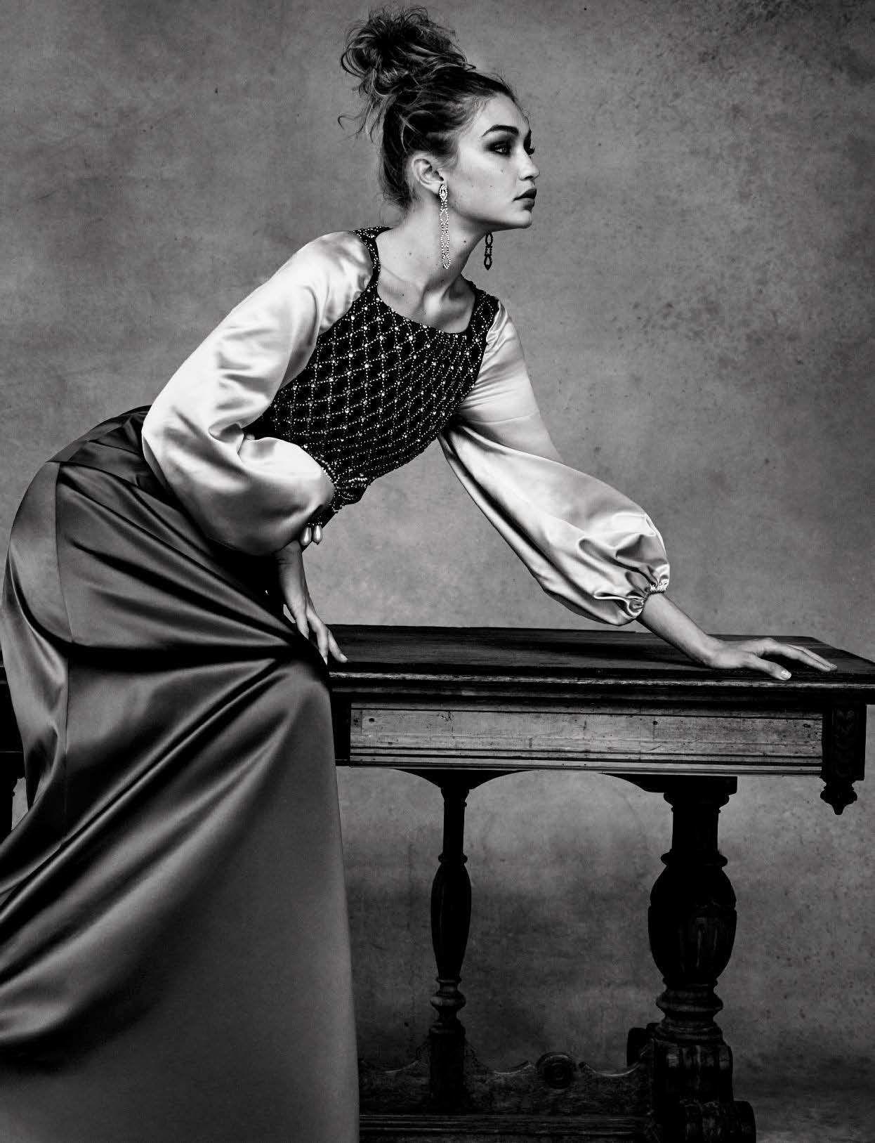 e417c3e92 Gigi Hadid by Patrick Demarchelier for Vogue Italia April 2016 ...