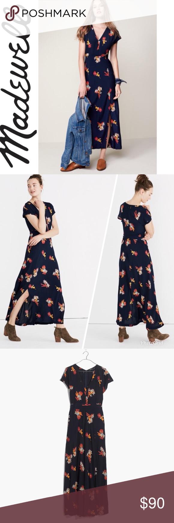 e4206805cb7 Cactus Flower Print Maxi Dress New with tag