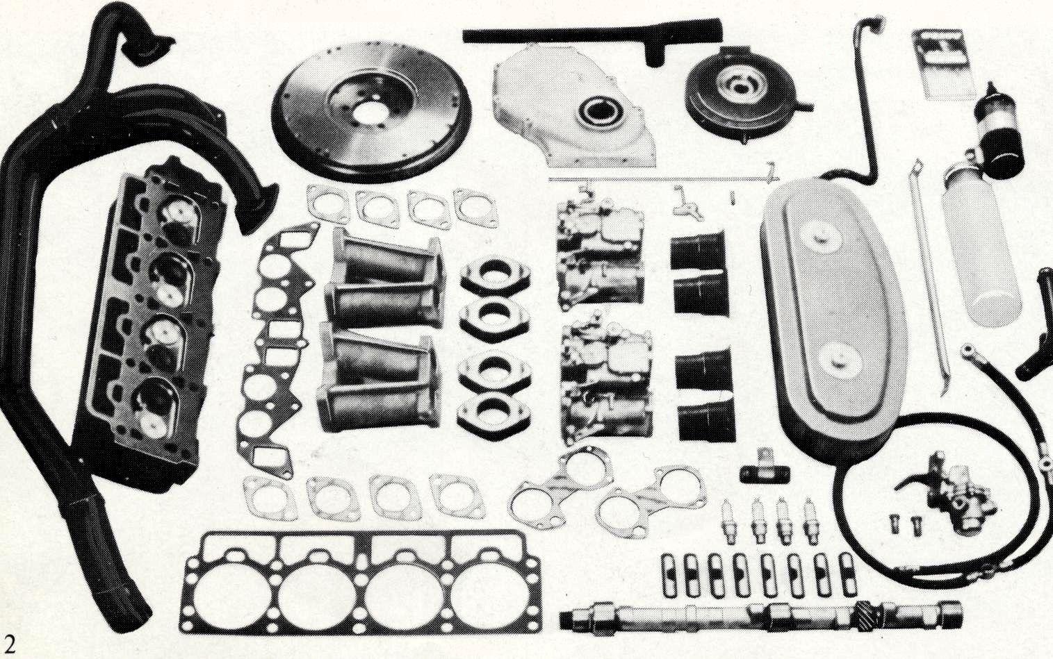 Volvo B20 tuning kit Stage II, 160 hp | Volvo | Volvo cars
