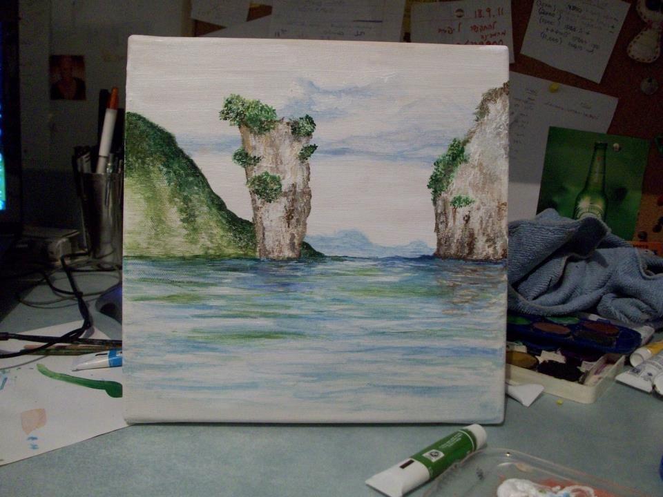 acrylic paint thailand