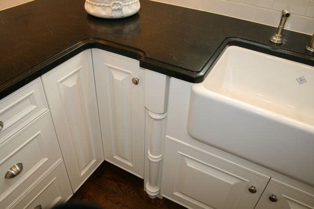 Ogee Countertop Edge Under Mount Farmhouse Sink