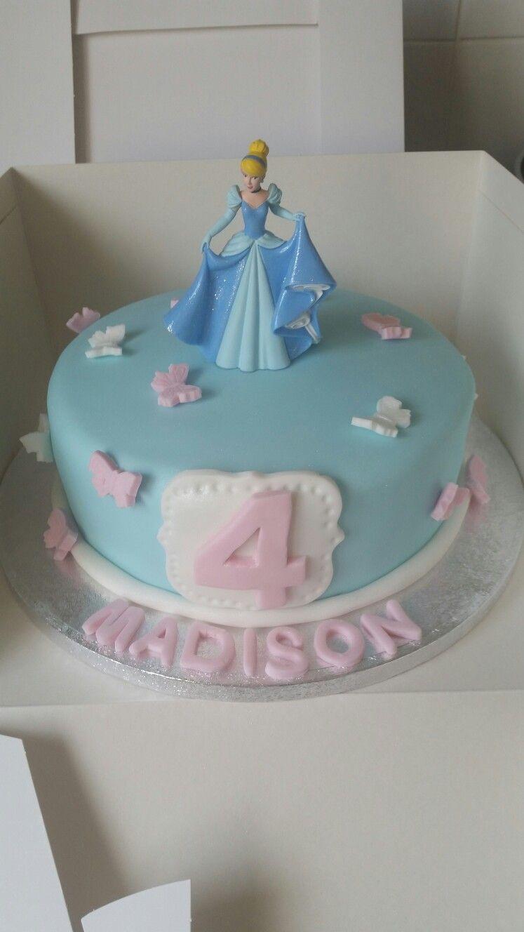 Admirable Cinderella Cake Cinderella Birthday Cake Cinderella Cake Birthday Cards Printable Inklcafe Filternl