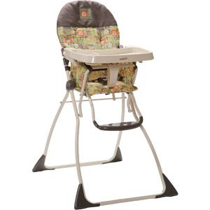 Cosco Flat Fold High Chair Born To Be Wild Folding High Chair