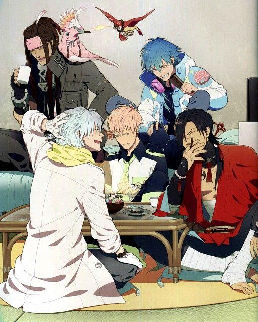 Nitro Behind Komatsu Manga Jpg: Honyarara, Nitro+, DRAMAtical Murder, Koujaku, Ren
