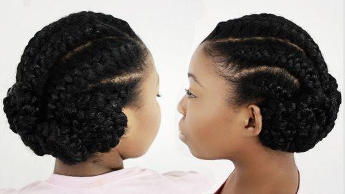 Black Updo Hair Styles: 10 Unique Black Braided Updos