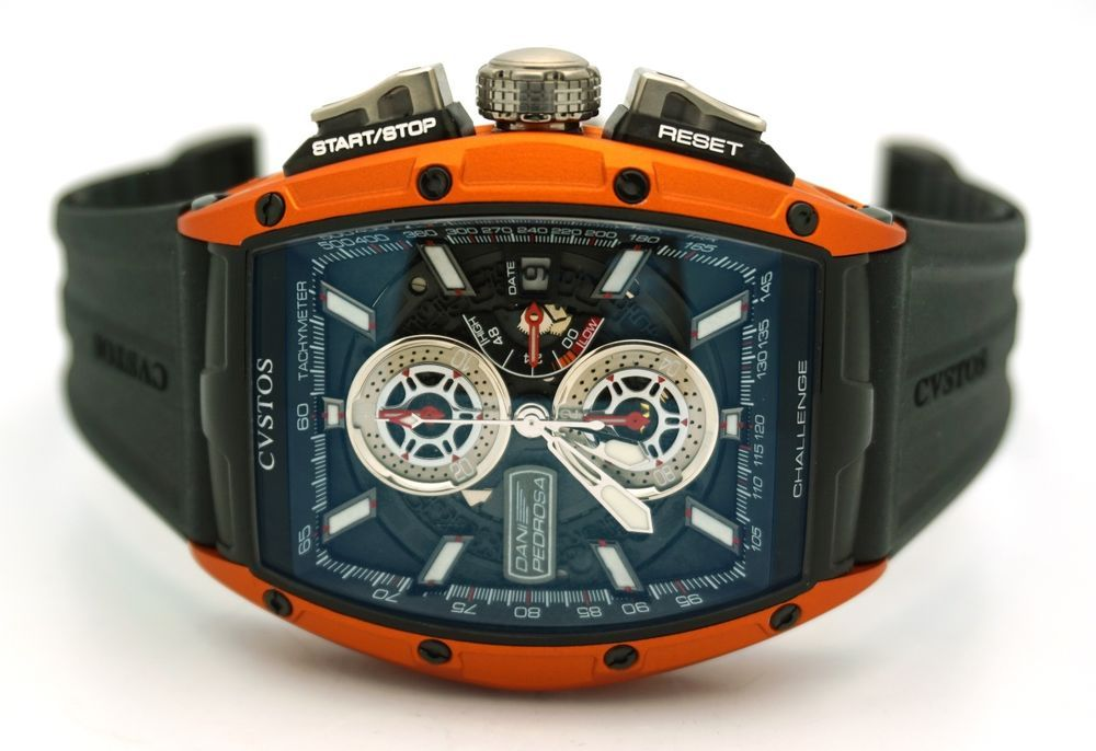 CVSTOS AUTOMATIC CHALLENGE DANI PEDROSA 26 Orange LIMITED EDITION Skeleton  #Cvstos #LuxuryDressStyles