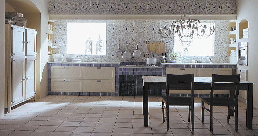 50 Foto di Cucine in Muratura Moderne | logo | Cucina in ...