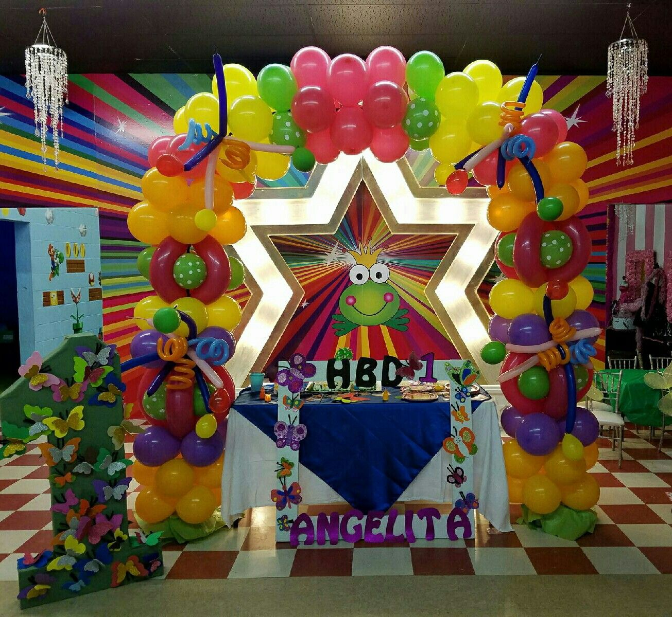 Balloon Archs by Me!