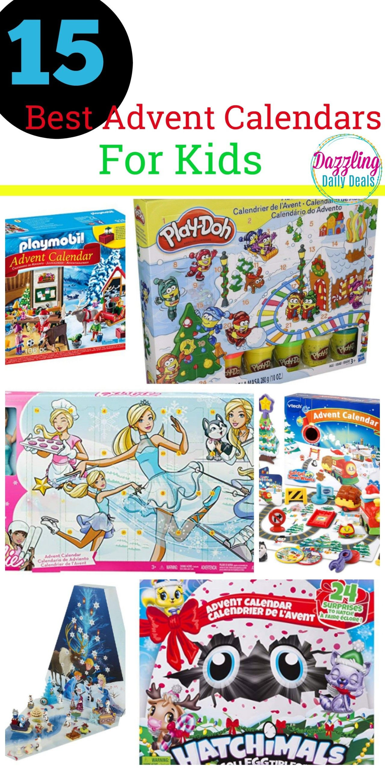 15 Of The Best Advent Calendars For Kids Dazzling Daily Deals