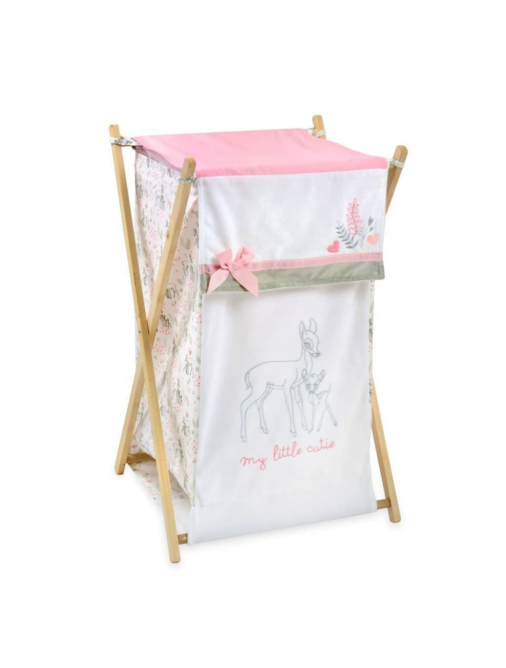 Pink Dearest Bambi Hamper Baby Clothes Organization Baby
