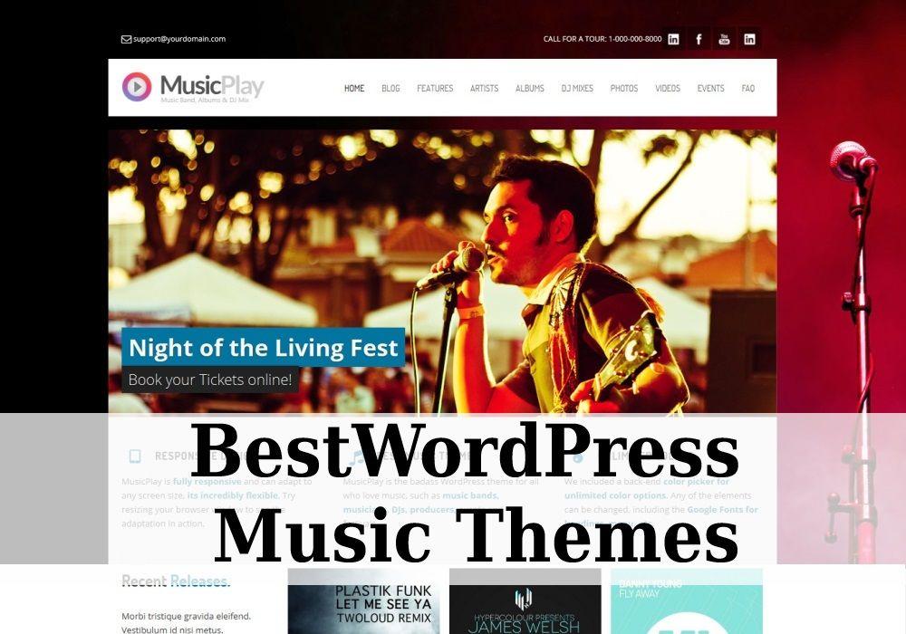 Best Wordpress Music Themes