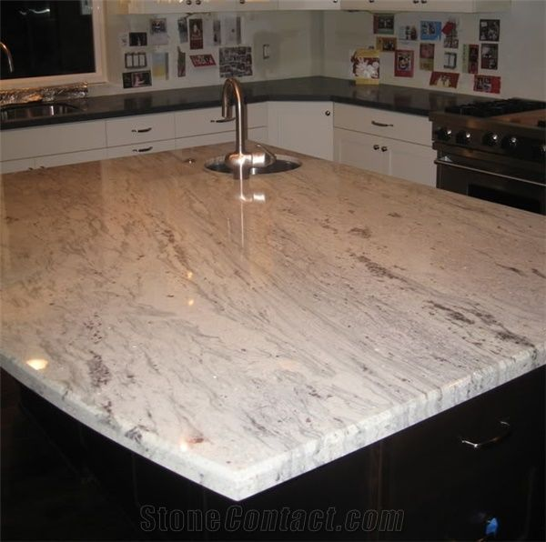 Bianco Romano Granite Pictures Additional Name Usage Density Suppliers Stonecontact Granite Kitchen Granite Kitchen Island Quartzite Countertops Kitchen