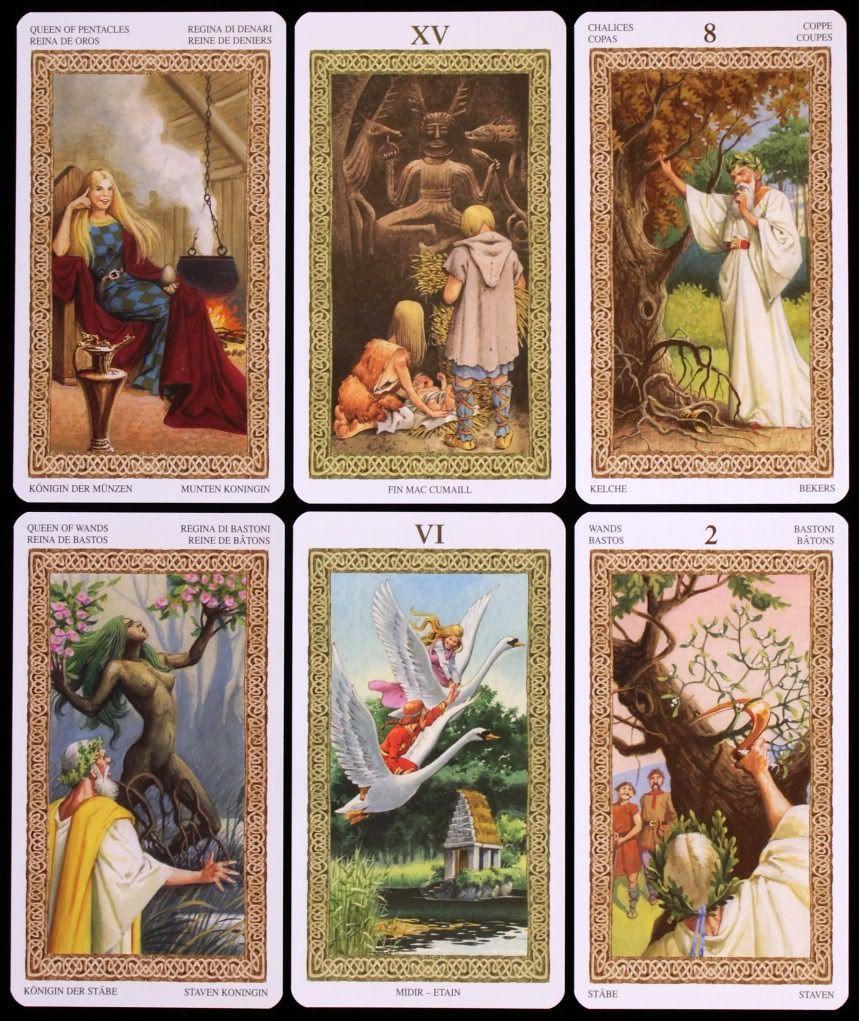 Castelo de Asgard: Tarot dos Druidas #MediumMaria