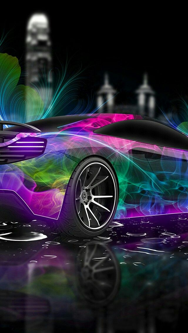 Neon Lights Car Wallpaper Cool wallpapers cars, Cool car