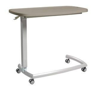 Overbed table with fixed top | Healthcare Furniture | Teal