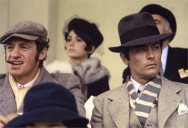 Jean Paul Belmondo and Alain Delon Borsalino 78baa1d7a777