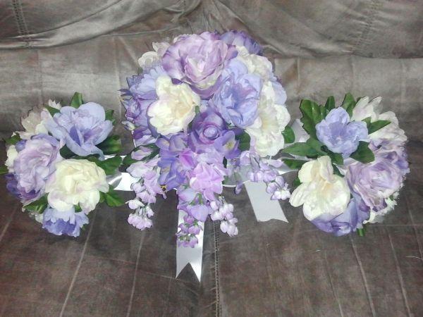 purple | Floral wreath, Dream wedding, Floral