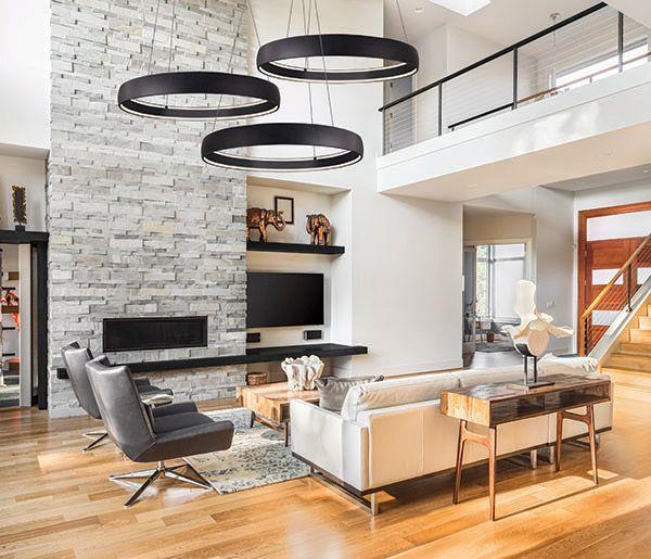 luminaire suspendu halo pd22735 bk future maison en 2019. Black Bedroom Furniture Sets. Home Design Ideas