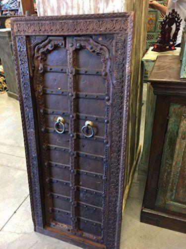 Mogulinterior Vintage Teak Rustic Terrace Doors Mehrab Ca